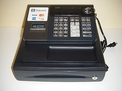 Casio PCR-T280 Electronic Cash Register GOOD USED CONDITION #2