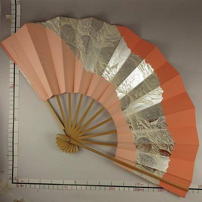 YU151 SENSU Japanese Fan Art Picture Geijyutu Traditional crafts Vintage Maiko
