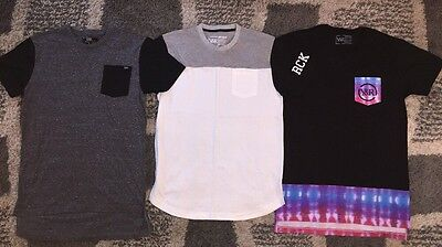 Young And Reckless T Shirts Lot - Men's Med *Elongated Tees