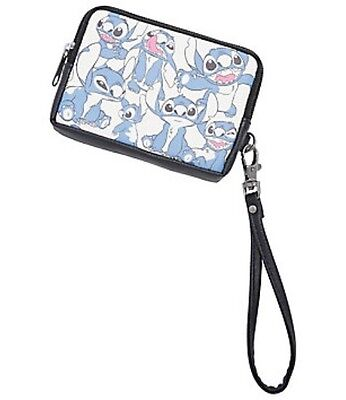 Disney Lilo & Stitch Faux Leather Wristlet Zip Coin Purse New With Tags!
