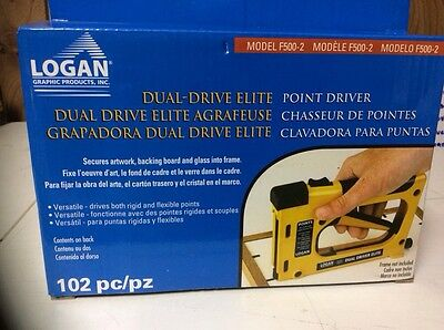 Logan Dual-Driver Elite Point Driver Model F-500-2 New Sealed Best Price Save $$