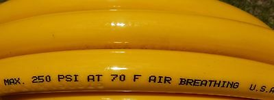 20' Gator Gill 3/8 I.D. Hookah Certified Stamped air breathing 250 psi Dive hose