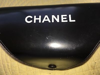 Chanel sunglasses case Black