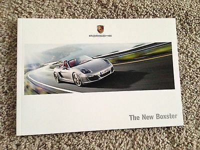 The New Porsche Boxster Sales Brochure