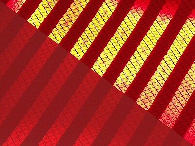 3M™ Reflex Foil Red 3430 RA1/C A4 Reflective Film Can Be Cut plottbar