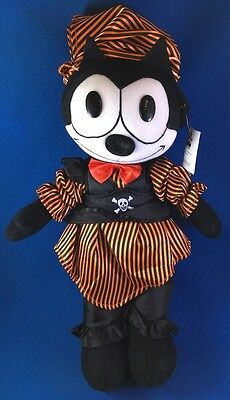 "FELIX THE CAT PIRATE Plush 15"" Toy Works 2003 MWMT"