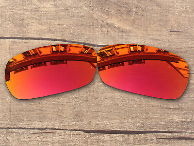 2be722cb88 Fire Red Mirror Polarized Replacement Lenses For-Oakley Crosshair 2.0  Sunglasses
