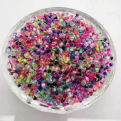 New DIY 3mm 500Pcs Transparent Glass Seed Spacer beads Jewelry Fitting craft #20