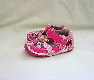 Stride Rite sandals shoes, multi-color, leather, size 5M
