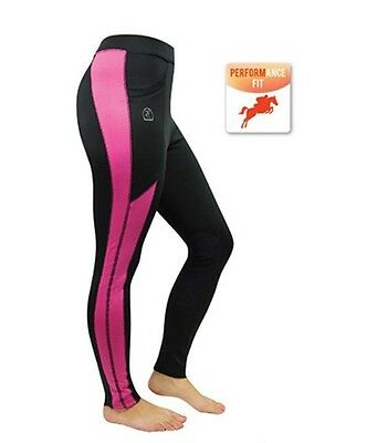 Thomas Cook Womens ASHLEY Pull On Breeches HOT PINK/NAVY