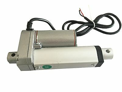 "Heavy Duty Linear Actuator 2"" inch Stroke 225 Lb Pound Max Lift 12V Volt DC"