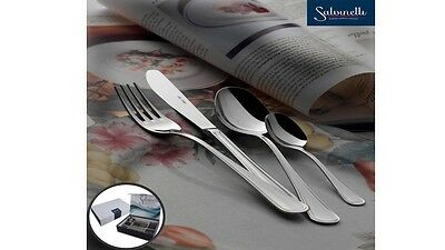 """Cutlery Set """" English """" 49 Pcs Cutlery 18/10 Stainless for 12 Persons Salvinell"""