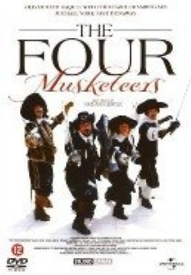 Four musketeers - Dutch Import  DVD NUEVO