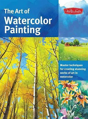 The Art of Watercolor Painting by Nancy Wylie - Paperback - NEW - Book
