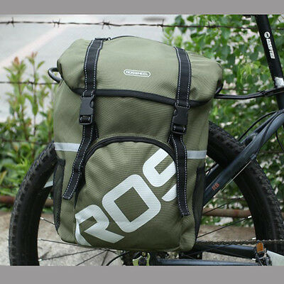 ROSWHEEL Waterproof Bike Rear Seat Tail Trunk Bag Bicycle Cycling Pannier Pouch