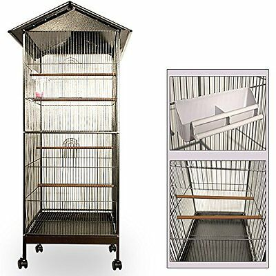 Large Bird Cages for Parrots Budgies Canaries Aviary Metal Construction