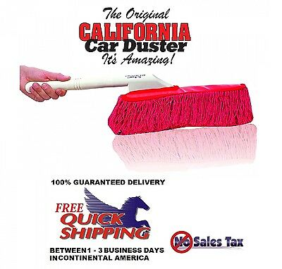 The Original California LARGE Car Duster Cars Home Wax Treated Plastic Handle