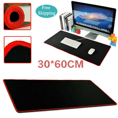 New 600*300 *2mm XL PC Laptop Computer Rubber Gaming Mouse Pad Mat Large Size