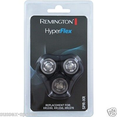 Remington SPR XR HyperFlex 3 Pack Rotary Heads XR1330 XR1340 XR1350 XR1370 NEW!