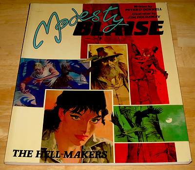 Peter O'Donnell & Jim Holdaway MODESTY BLAISE : THE HELL-MAKERS Titan Books P/B