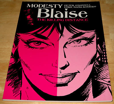 Peter O'Donnell MODESTY BLAISE : THE KILLING DISTANCE Titan Books P/B