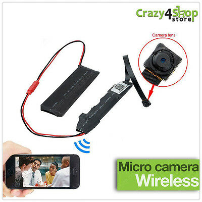 Microcamera Spia Wifi Hd Spy Camera P2P Telecamera Micro Nascosta Detection