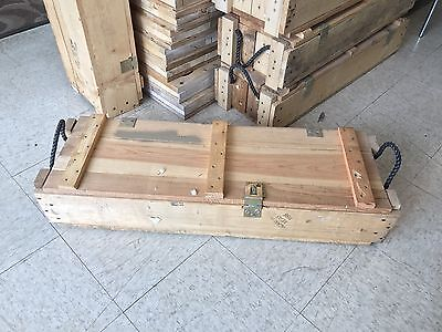 105 Mm Howitzer Us Army Wooden Ammuntion Ammo Crate Wood Box Project?