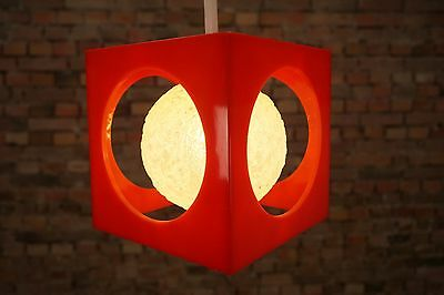 Space Age CEILING LAMP LIGHT LAMP PENDANT lamp LIGHT Panton Era 1970s