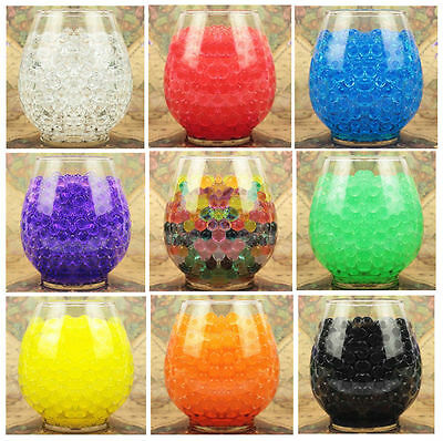 1000Pcs Fun Magical Water Plant Jelly Crystal Soil Mud Hydro Pearls Beads Balls#