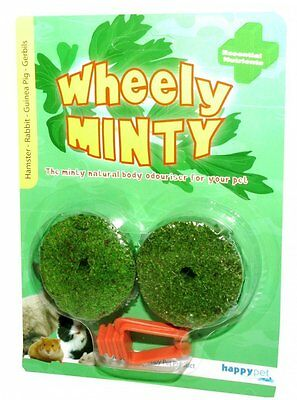 HappyPet Wheely Minty, minerales  para Roedores