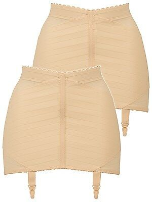 Pack of 2 Firm Control Suspender Girdle 2023 Naturana