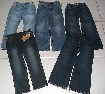 Boy's Size 5/6 Slim True Religion, Gap, Gymboree And Old Navy 5 Pairs Of Jeans!