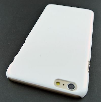 White Slim Fit Hard Simple Armor Phone Case Cover For Iphone 6S Plus 5.5