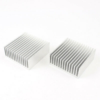 2pcs Chipset Heatsink Heat Diffuse Cooling Fin 50mm x 56mm x 20mm