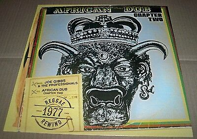 JOE GIBBS & THE PROFESSIONALS African Dub All Mighty Chapter 2, 12 Track LP - EX