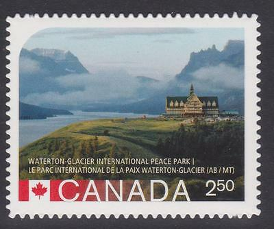 Canada 2015 #2848i UNESCO World Heritage Sites in Canada - die cut Unused