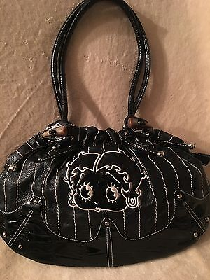 Betty Boop  Shoulder Bag Medium to Large Size.