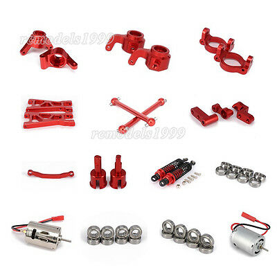 Alum Part For RC 1/18 Himoto E18 Truck Buggy On-road Parts Red
