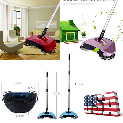New 360 Rotary Home Use Dust Sweeper Magic Manual Telescopic Floor Dust Sweeper