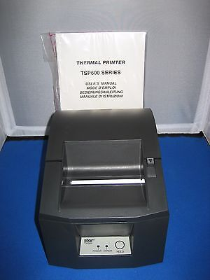 Star Micronics Tsp600 Series Pos Usb Thermal Receipt Printer Tsp613U-Gry