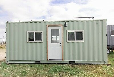 Container Homes, 8' x 20' models, will custom build to your specs.