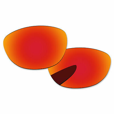 3929c9e9b2 Fire Red Mirror Polarized Replacement Lenses For-Oakley Jupiter LX  Sunglasses