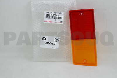 8155160363 Genuine Toyota LENS, REAR COMBINATION LAMP, RH 81551-60363