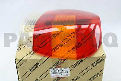 8155152330 Genuine Toyota LENS, REAR COMBINATION LAMP, RH 81551-52330