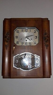 ANCIEN CARILLON HORlOGE 8 TIGES 8 MARTEAUX WESTMINSTER STYLE ODO