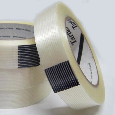 #8934 Clear Filament Reinforced Strapping Fiberglass Tape EXTRA STRONG - 55m