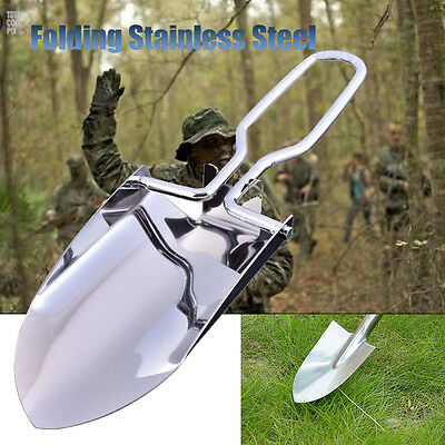 Folding Camp Shovel | Entrenching Tool Steel Spade Compact Mini Outdoor Survival