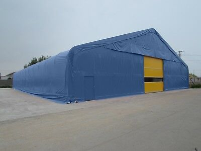 Steel Frame Temporary Storage Building Industrial Portable Commercial Warehouse