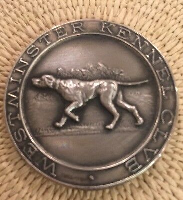 1956 Westminster Kennel Club -Pointer Best of Breed  Sterling Coin