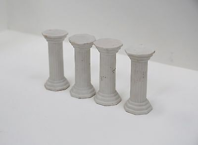 Vintage Ceramic Cake Pillars - Shape of Roman Column Pillars